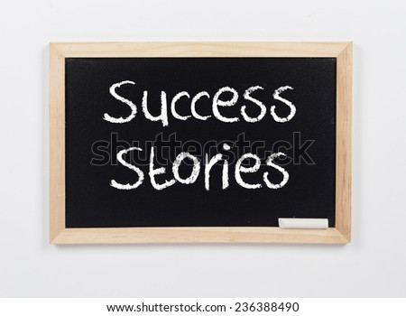 Success Stories - stock photo