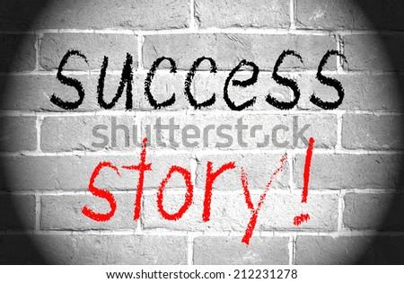Success Story - stock photo