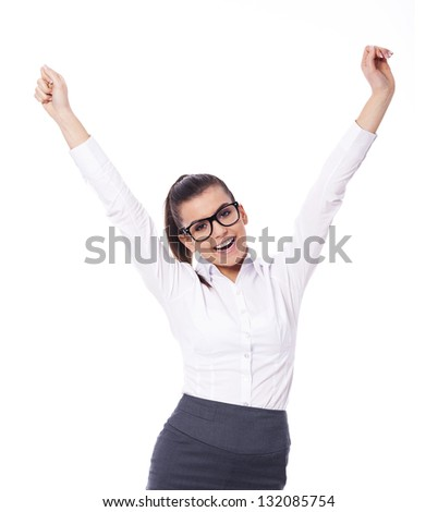 Successful - stock photo