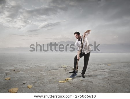Successful business choice - stock photo