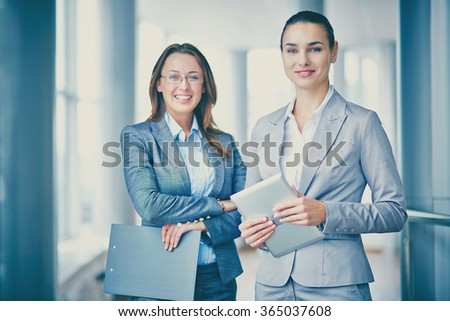 Successful managers - stock photo