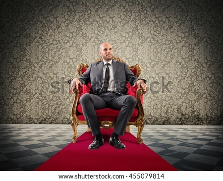 Successful royal businessman