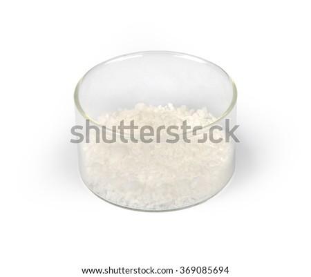 Succinic acid - stock photo
