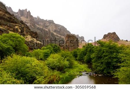 Succor Creek State Natural Area - stock photo