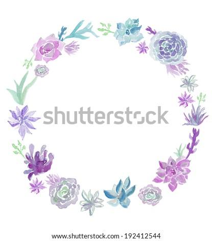 Succulent Clip Art Stock-billeder, royaltyfri billeder og vektorer ...