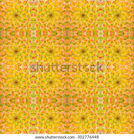 succulent plant seamless pattern background - stock photo