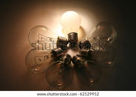 Sudden Inspiration - stock photo