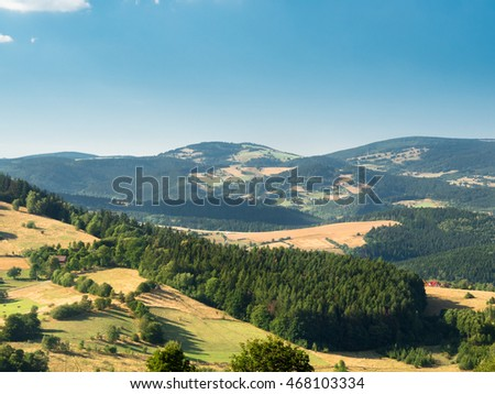 Sudeten Mountains, Poland