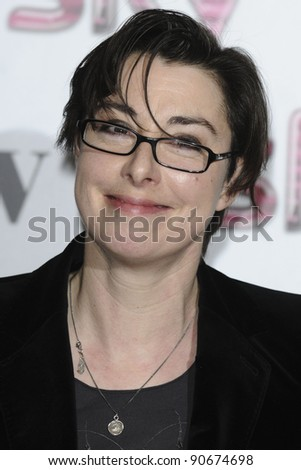 Sue Perkins arriving for the Women in Film and TV Awards 2011 at the Park Lane Hilton Hotel, London. 02/12/2011 Picture by: Steve Vas / Featureflash