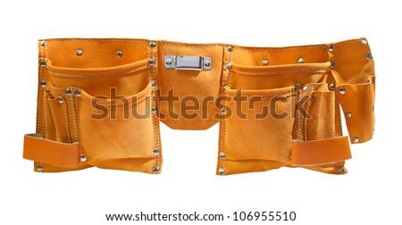 suede working belt.TIF - stock photo