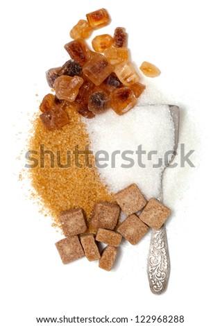 sugar assrotment - stock photo