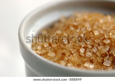 Sugar bowl - stock photo