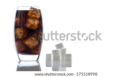 sugar in cola