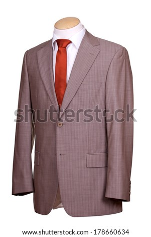 suit with tie