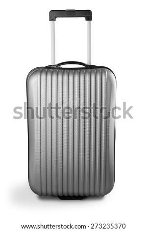 Suitcase, Luggage, Travel. - stock photo