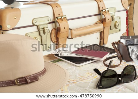 suitcase travel