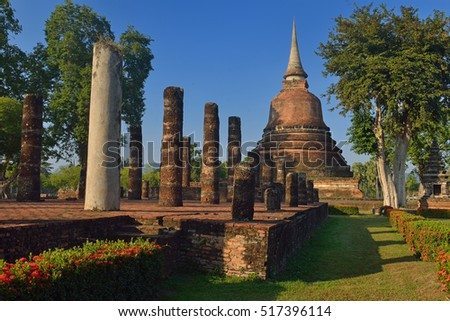 Sukothai historical park (world heritage)