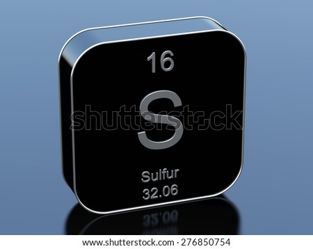 Sulfur - stock photo
