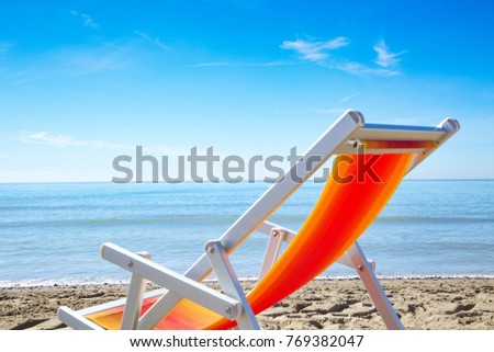 Summer background on beach with summer tools decoration and free space for your product, vacation. Traveler dreams concept
