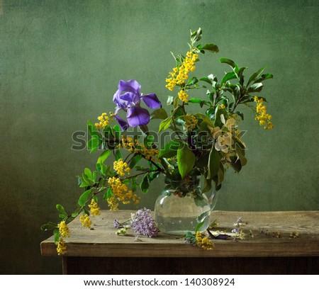 Summer bouquet - stock photo