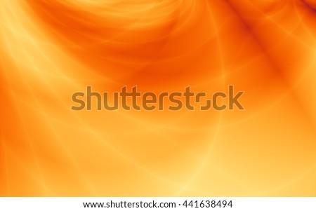 Summer bright orange golden background - stock photo