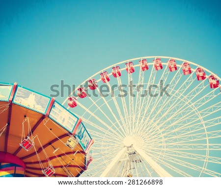 Summer Carnival - stock photo