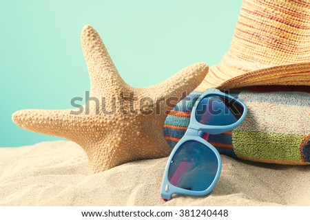 Summer holiday - stock photo