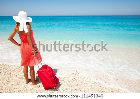 Summer holiday can begin - stock photo