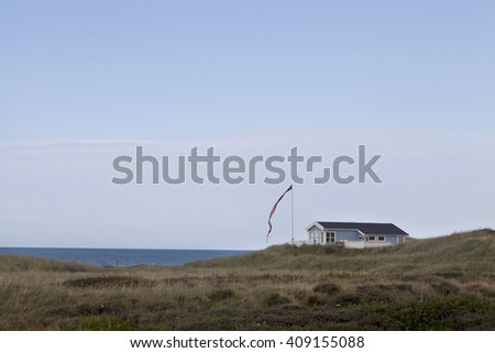 Summer House. A part of Danish culture is the concept of the summer house on the coast. Many danish families own a second smaller home that takes advantage of the long days of summer by the beach.