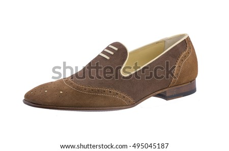 Summer leather man shoe