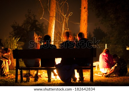 Summer party - stock photo
