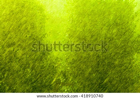 Summer rainy outside window, water drops droplets raindrops on glass windowpane as background texture. Downpour rain. - stock photo