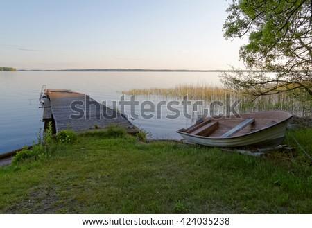 Summer Serenity - stock photo