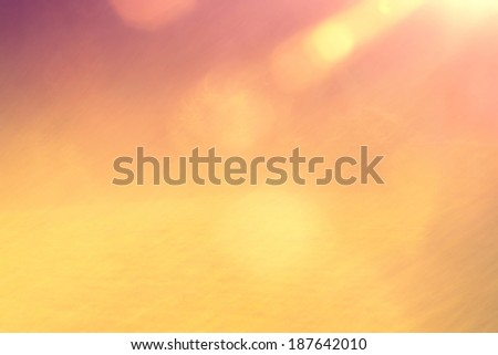 Summer sunny blured background. Vintage color effect filter used. - stock photo