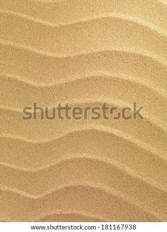 Summer sunny sea sand background - stock photo