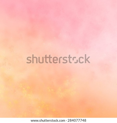 Summer texture create a sense of chaotic applying paint to the canvas. Pastel shades, sunny and cheerful. - stock photo