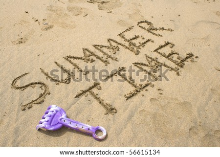 Summer time - stock photo