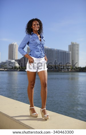 Summer trend fashion - stock photo