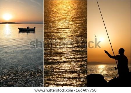 summer vacation - stock photo
