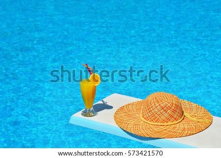 Pretty Blonde Summer Vacation Scene 111