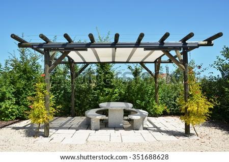 Summerhouse - stock photo