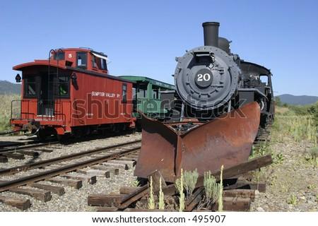 Sumter Valley Railway - stock photo