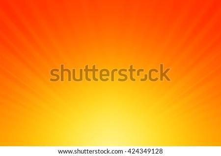Sun burst, Abstract light background - stock photo