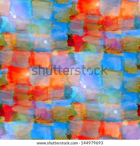 sun glare grunge texture, watercolor blue red seamless background drawn background, business background, abstract background, retro background