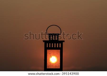 sun Lantern - stock photo