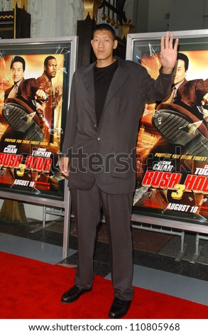 "Sun Ming Ming at the Los Angeles Premiere of ""Rush Hour 3"". Mann's Chinese Theater, Hollywood, CA. 07-30-07 - stock photo"