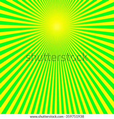 Sun rays background  - stock photo