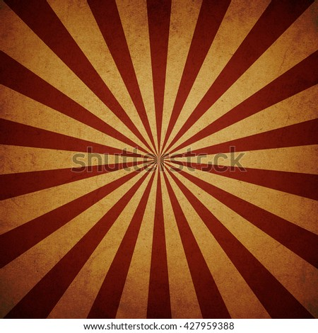 Sun rays, Old paper with stains, Vintage background, Grunge texture background. - stock photo