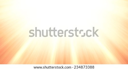 sun rays or sun beams background, bright sunshine shining in the sky, zoomed filter effect, glowing brilliant streaks of light, abstract artsy background - stock photo