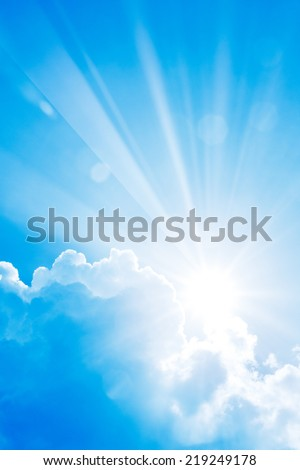 Sun Shine - stock photo